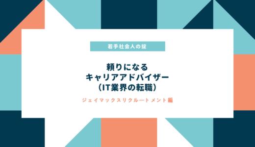 【キャリアコンサルタントインタビュー】ジェイマックスリクルートメント 田中様
